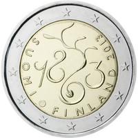 Suomi 2 € 2013 Valtiopäivät 150 vuotta