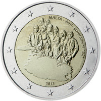 Malta 2 € 2013 Itsehallinto 1921