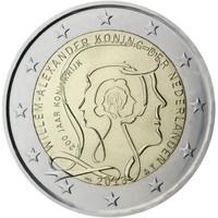 Alankomaat 2 € 2013 Kuningaskunta 200 vuotta