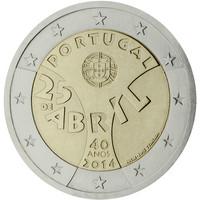Portugali 2 € 2014 Neilikkavallankumous