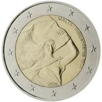 Malta 2 € 2014 Itsenäisyys 1964
