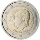 Espanja 2 € 2014 Kuningas Felipe VI
