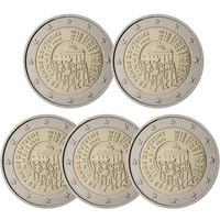 Saksa 2 € 2015 Saksan yhdistymisen 25-vuotisjuhla A-J