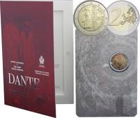 San Marino 2 € 2015 Dante Alighieri