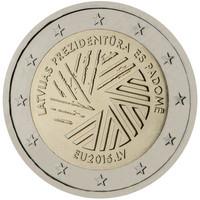 Latvia 2 € 2015 EU- puheenjohtajuus
