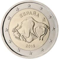 Espanja 2 € 2015 Altamira