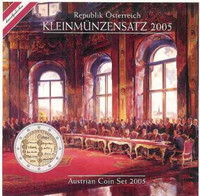 Itävalta 2005 BU sis. 2 €- juhlarahan