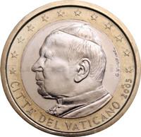 Vatikaani 1 € 2003 Johannes Paavali II BU