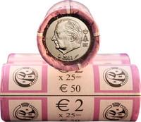 Belgia 2 € 2011 rulla
