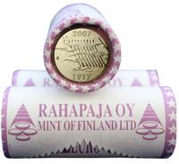 Suomi 2 € 2007 Itsenäisyys 90 vuotta rulla