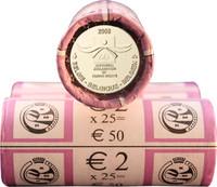 Belgia 2 € 2008 Ihmisoikeuksien julistuksen 60. juhlavuosi rulla