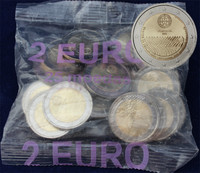 Portugali 2 € 2008 Ihmisoikeuksien julistuksen 60. juhlavuosi pussi