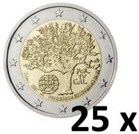 Portugali 2 € 2007 EU- puheenjohtajuus pussi