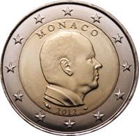 Monaco 2 € 2011 Albert II UNC