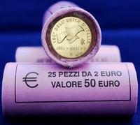 Italia 2 € 2011 150 vuotta Italian yhdistymisestä rulla