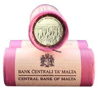 Malta 2 € 2012 Enemmistöedustus 1887 rulla