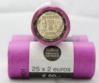 Ranska 2 € 2013 50 vuotta Élysée-sopimus rulla