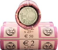 Belgia 2 € 2013 Meteorologian laitos 100 v. rulla