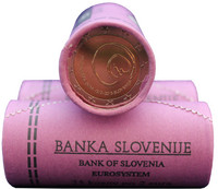 Slovenia 2 € 2013 Postojnan luolasto rulla