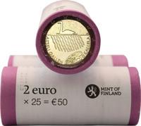Suomi 2 € 2015 Akseli Gallen-Kallela rulla