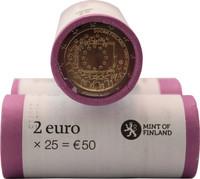 Suomi 2 € 2015 EU:n lippu 30 vuotta rulla