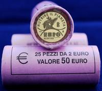 Italia 2 € 2015 Milano Expo rulla