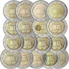 Rooman Sopimus 2 € 2007 kaikki 17 kolikkoa