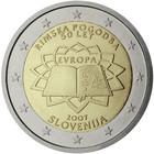 Slovenia 2 € 2007 Rooman Sopimus
