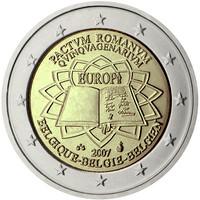 Belgia 2 € 2007 Rooman Sopimus