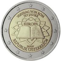 Itävalta 2 € 2007 Rooman Sopimus