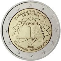 Kreikka 2 € 2007 Rooman Sopimus