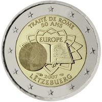 Luxemburg 2 € 2007 Rooman Sopimus