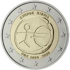 Kypros 2 € 2009 EMU 10 vuotta
