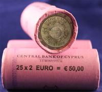 Kypros 2 € 2012 Euro 10 vuotta rulla