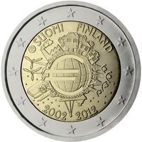 Suomi 2 € 2012 Euro 10 vuotta