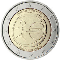 Suomi 2 € 2009 EMU