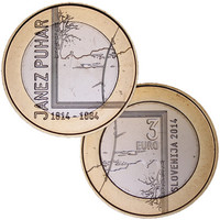 Slovenia 3 € 2014 Janéz Puhar