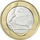 Suomi 5 € 2015 Urheilurahat - Voimistelu