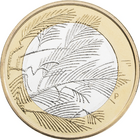 Suomi 5 € 2014 Pohjolan luonto, Erämaa