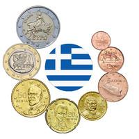 Kreikka 1s - 2 € 2005 UNC