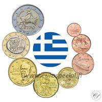 Kreikka 1s - 2 € 2008 UNC