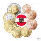 Itävalta 1s - 2 € 2008 UNC