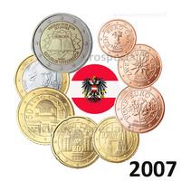 Itävalta 1s- 2 € 2007 UNC