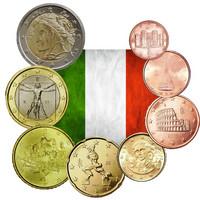 Italia 1s - 2 € 2012 UNC