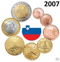 Slovenia 1s - 2 € 2007 UNC