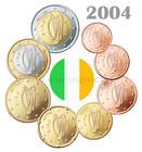 Irlanti 1s - 2 € 2004 UNC
