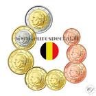 Belgia 1s - 2 € 2009-2011 UNC