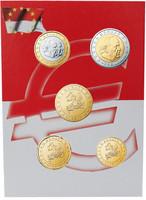 Monaco 10s - 2 € 2001 UNC