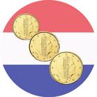 Alankomaat 10s, 20s & 50s 2016 UNC