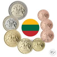 Liettua 1s - 2 € 2015 UNC